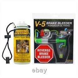 Phoenix Systems 2104-bot V-5 Bleeder Kit Avec Capture / Recharge Bouteille Plus Lightwe