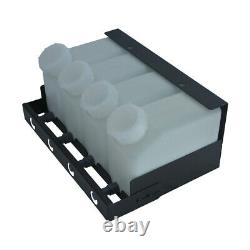 Pour Roland Vs-300 / Vs-420 / Vs-540 4 Bottle 4 Cartridge Bulk Ink Supply System