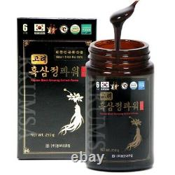 Puissance D'extrait De Ginseng Noir Coréen (250g X 4 Bouteille) 1000g / Ginsng Noir