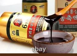 Pur 100% Coréen 6 Ans Extrait De Ginseng Rouge 240g 2bottle (480g) Anti-vieillissement