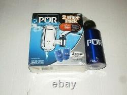 Pur Water Filtration System Fm-3800 Avec Bonus Bouteille 1 Système Et 2 Filtres Nouveau