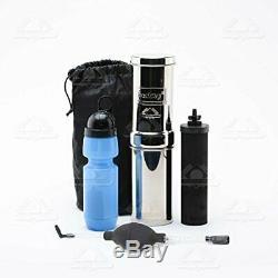 Randonnée Hydratation Kit Avec Filtre Portable D'eau Système Bouteille D'eau Et Sac De Transport