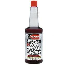 Red Line 60103 Si-1 Complete Fuel System Cleaner 15oz 1 Boîte/12 Bouteilles
