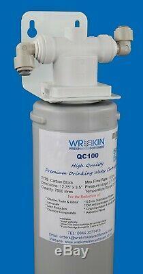 Réseau D'eau Potable 12 Mois Quick Change Filtre Pour Bouteille Qualité De L'eau