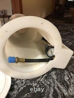Roto-moulé Gpl / Propane Drop Dans Le Casier Système De Réservoir Unique Avec Couvercle Et Bouteille