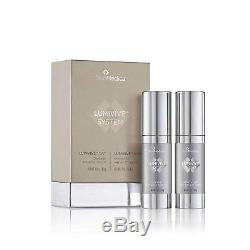 Skinmedica Lumivive Day & Night System 1 Oz Chaque Bouteille 100% Authentique Scellé