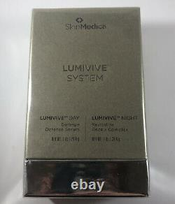 Skinmedica Lumivive Day & Night System 1 Oz Chaque Bouteille Neuve Dans La Boîte Scellée