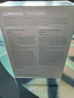 Skinmedica Lumivive Day & Night Système 1 Oz Chaque Bouteille 100% Authentique Nouveau