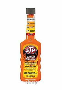 Stp Booster Octane Bouteilles Cleaner Système D'admission De Carburant 5,25 Fl Oz Paquet De 12 1