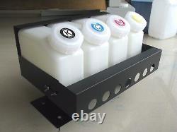 Système D'alimentation D'encre En Vrac Pour Mimaki Jv33 / Jv3 / Jv5 4 Bouteilles, 8 Cartouches