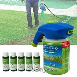 Système D'emploi Usage Domestique Liquide À Pulvérisation Graines À Gazon Gazon Herbe Shot Nouveau Fast Sh G1v0