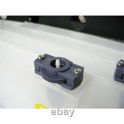 Système D'encre En Vrac 4 Bouteille 8 Cartouches Continues Pour Imprimante Roland Fh-740