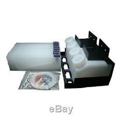 Système D'encre En Vrac Mimaki - 4 Bouteilles, 8 Cartouches, Pour Toutes Les Imprimantes À Jet D'encre Mimaki