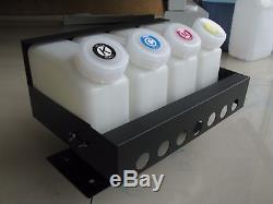 Système D'encre En Vrac Mimaki Jv33 / Jv3 / Jv5 - Alimentation En Encre Continue De 4 Bouteilles Et 8 Cartouches