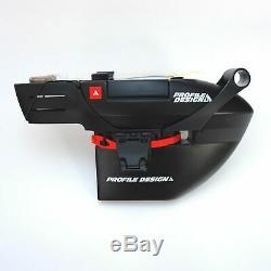Système D'hydratation Fc35 Aero Profile Design Pour Bouteilles Tt Black