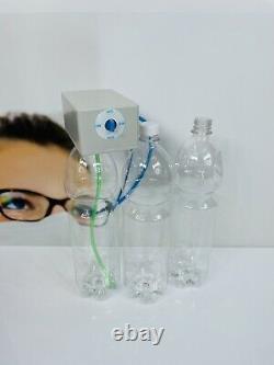 Système De Bouteilles Dentaires Mit Drei 1,5l Flaschen Für Behandlungseinheiten Neu Mg001342