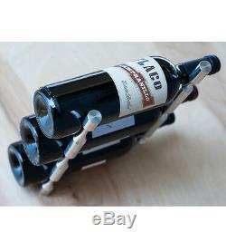 Système De Casier À Vin Moderne Vino Pin S'installe Sur N'importe Quelle Surface (peut Contenir De 1 À 3 Bouteilles)