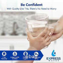 Système De Filtration D'eau Osmose Inverse Ro Plus 4 Filtres Gratuits 50 Gpd