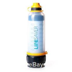 Système De Filtration D'eau Portatif De Bouteille De Survie De Lifesaver 4000uf Spec Militaire