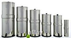 Système De Filtration Travel Berkey Avec 2 Filtres Black & 2 Pf-2 Et 1 Bouteille De Sport Berkey