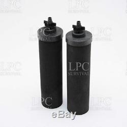 Système De Filtration Travel Berkey Avec 2 Filtres Et Bouteilles De Fluorure Black & 2 Pf-2