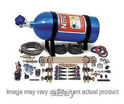 Système Nos À L'oxyde Nitreux, Sportsman Fogger, Humide, 50-250 Ch, Bouteille De 10 Lb, Bleu