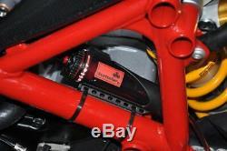 Système Scottoiler V Pour Motocyclettes Ducati - Bouteille Rouge