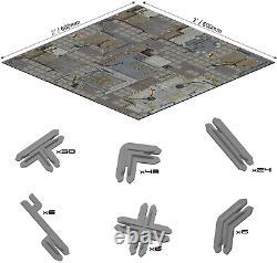 Systèmes De Bataille Frontier Core Set 28mm Space Terrass Board Jeu Néoprène 3d