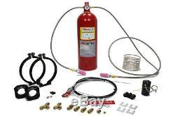 Systèmes De Sécurité Manuel Automatique Et Système De Bouteille D'incendie 10lb Fe36 P / N Pamrc-1002