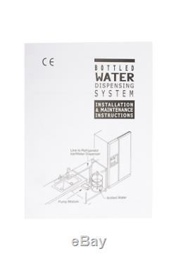 Tdrforce Bouteille D'eau De Distribution Système De Pompe Avec Entrée Unique 120v Ac Us Pour 5