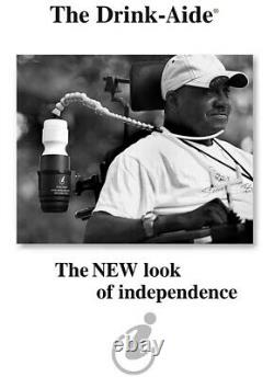 The Drink-aide New Look Of Independence Wheel Chair Water Bottle Mounting System