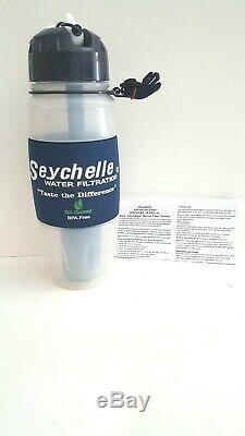 Tout Neuf Seychelle Système De Filtration Bouteille D'eau 28 Oz