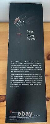 Tout Nouveau Modèle Coravin 1000 Wine System Orig. Capsules Boîte, Base, Manche Bouteille