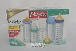 Vintage Playtex Drop-ins System Bottle Original Gift Set. Boîte Ouverte