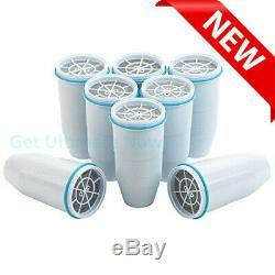 Zerowater 5 Étapes Filtres De Remplacement, Blanc 8 Paquets